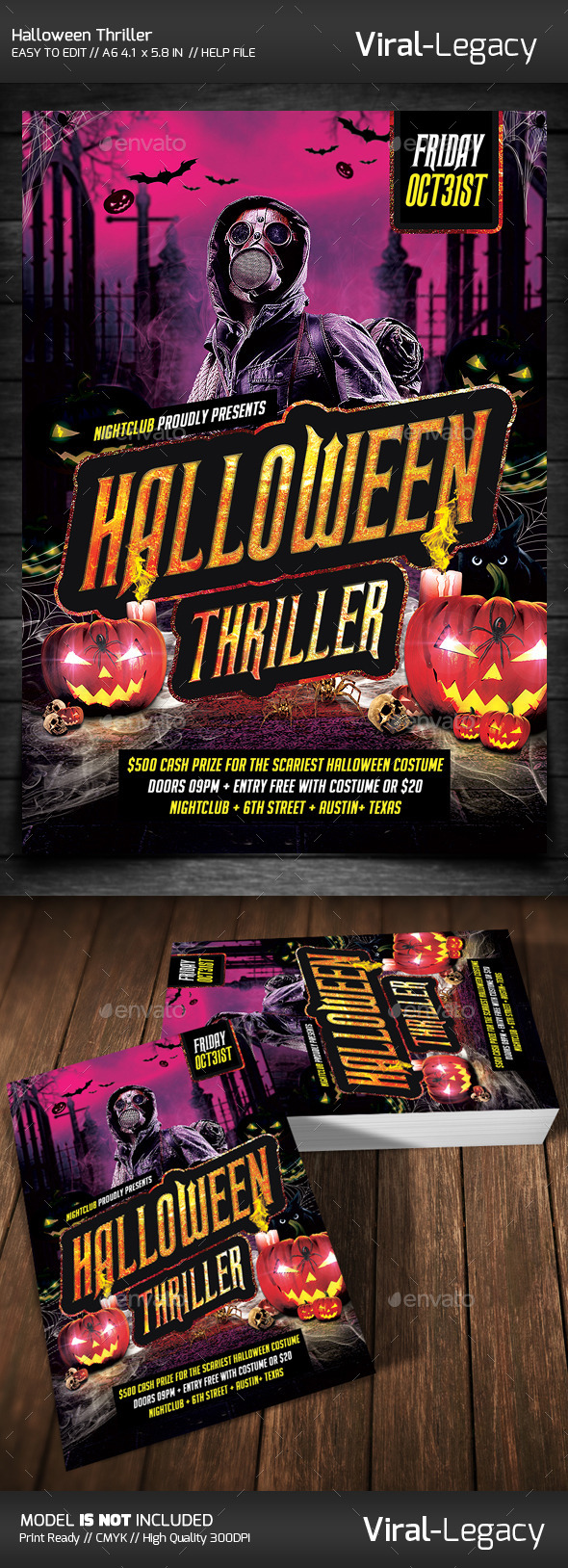 GraphicRiver Halloween Thriller Party 9107728