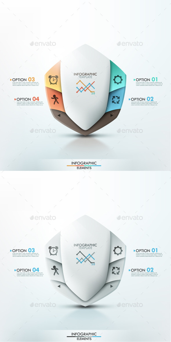 GraphicRiver Modern Infographic Options Banner 2 Items 9107770