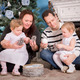 Happy Family and Christmas Tree - PhotoDune Item for Sale