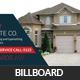 Real Estate Billboard Banner Template - GraphicRiver Item for Sale