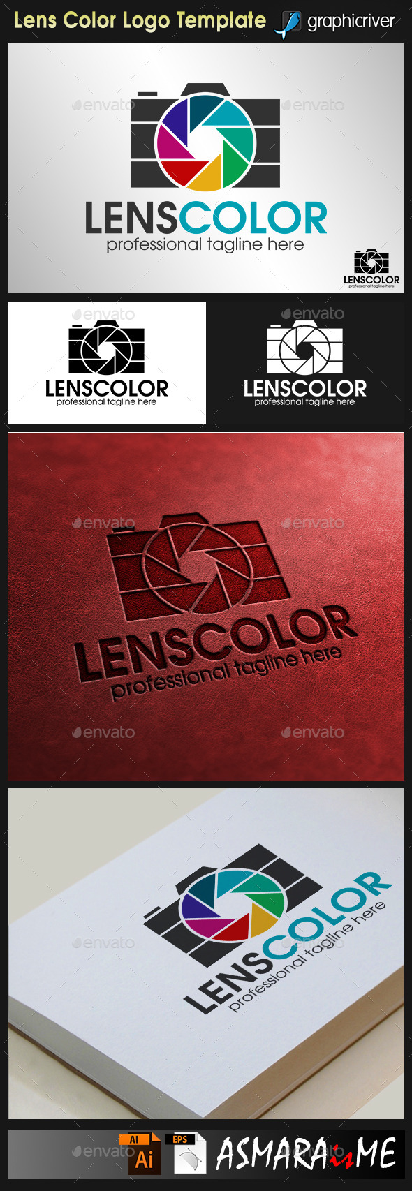 Camera Logo Lens Color Photography