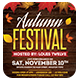 Autumn Festival Flyer + FB Cover - GraphicRiver Item for Sale