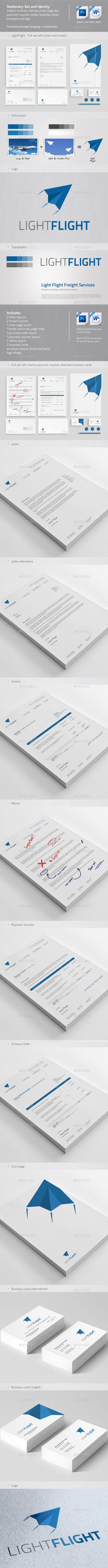 GraphicRiver Clean & Modern Stationary Invoice and Identity 2 9110090