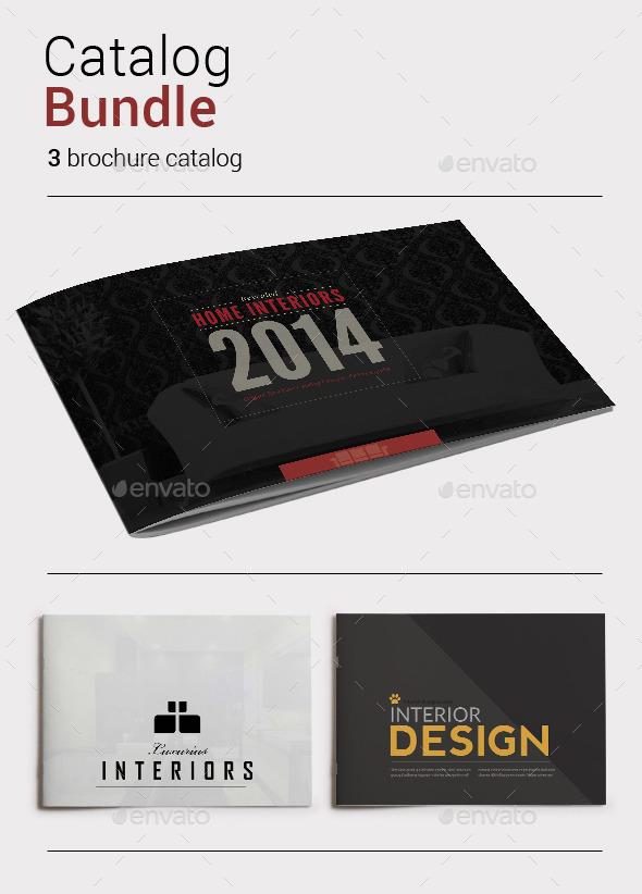 GraphicRiver Catalog Bundle 9110147