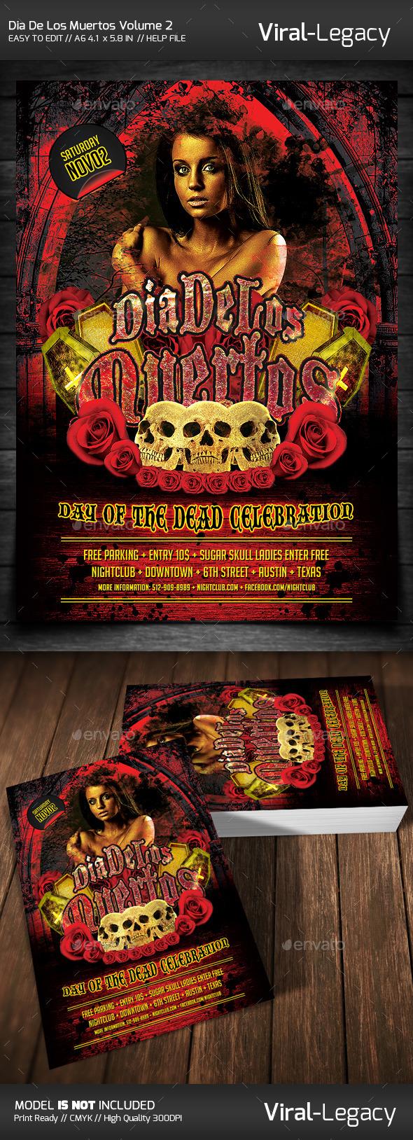 GraphicRiver Dia De Los Muertos Volume 2 9110155