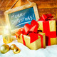 gift boses and candles for christmas - PhotoDune Item for Sale