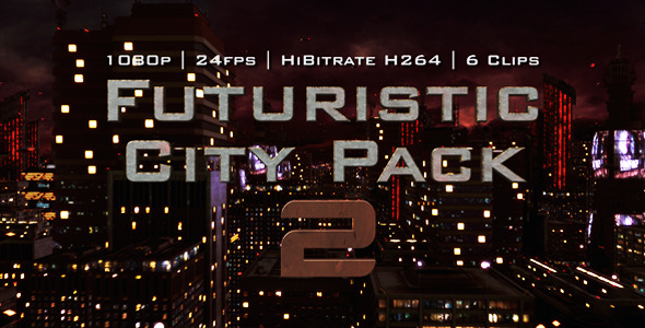 Futuristic City Pack 2