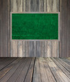 abstract the green blackboard on grunge wall - PhotoDune Item for Sale