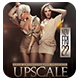 Upscale Fridays | Flyer + FB Cover - GraphicRiver Item for Sale