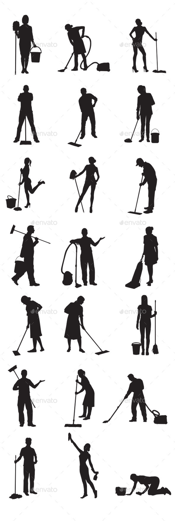 GraphicRiver Janitor 9111273