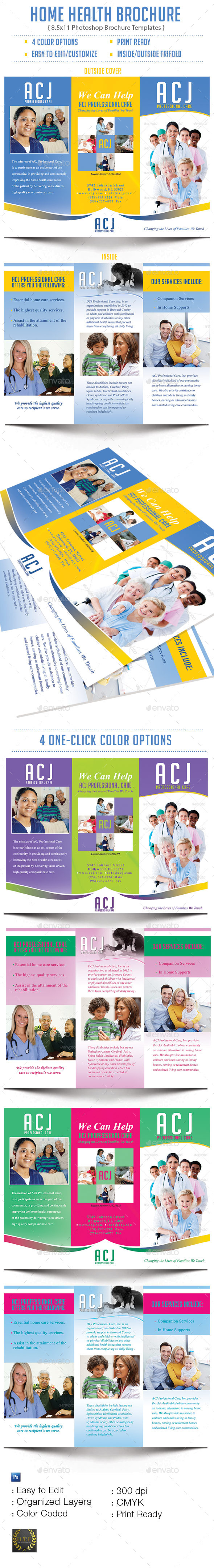 GraphicRiver Home Health Brochure 9111474