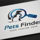 Pets Finder Logo - GraphicRiver Item for Sale