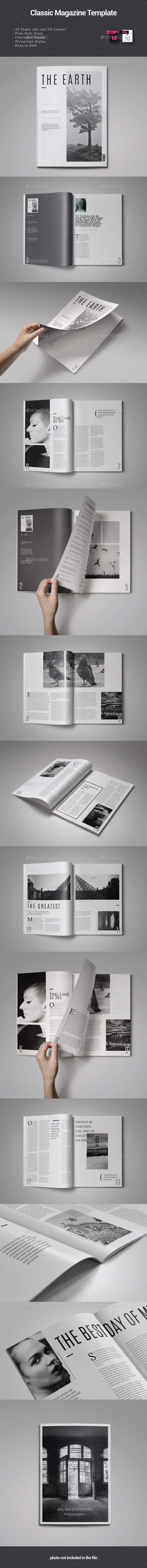 GraphicRiver 32 Pages Indesign Magazine Template 9112619