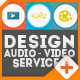 Design-Audio-Video Services Online Promo - VideoHive Item for Sale