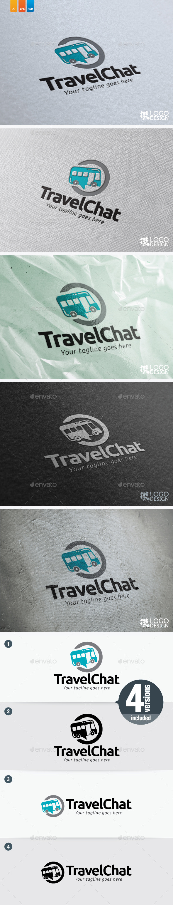 GraphicRiver Travel Chat 9115081