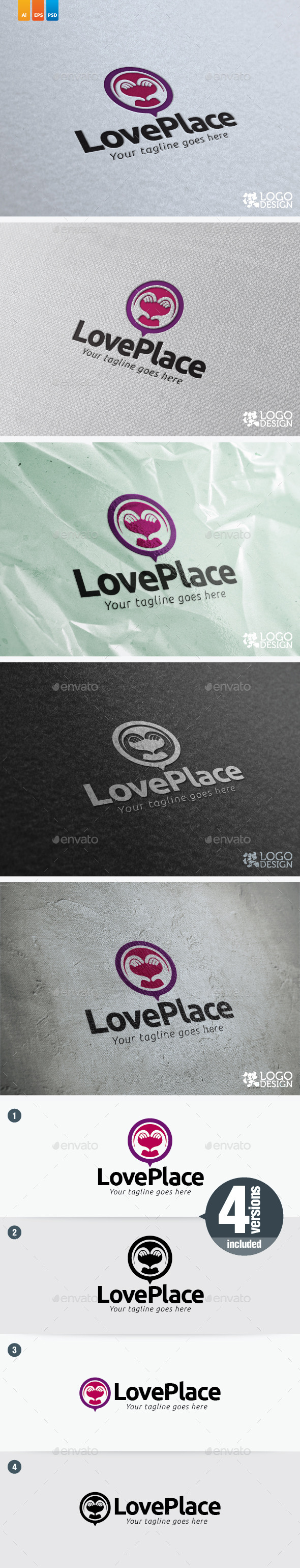 GraphicRiver Love Place 9115096