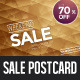 Diamonds Weekend Sale Postcard / Mailer - GraphicRiver Item for Sale