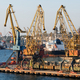 Ships and cranes in seaport - PhotoDune Item for Sale