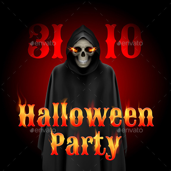 GraphicRiver Halloween Party 9115245
