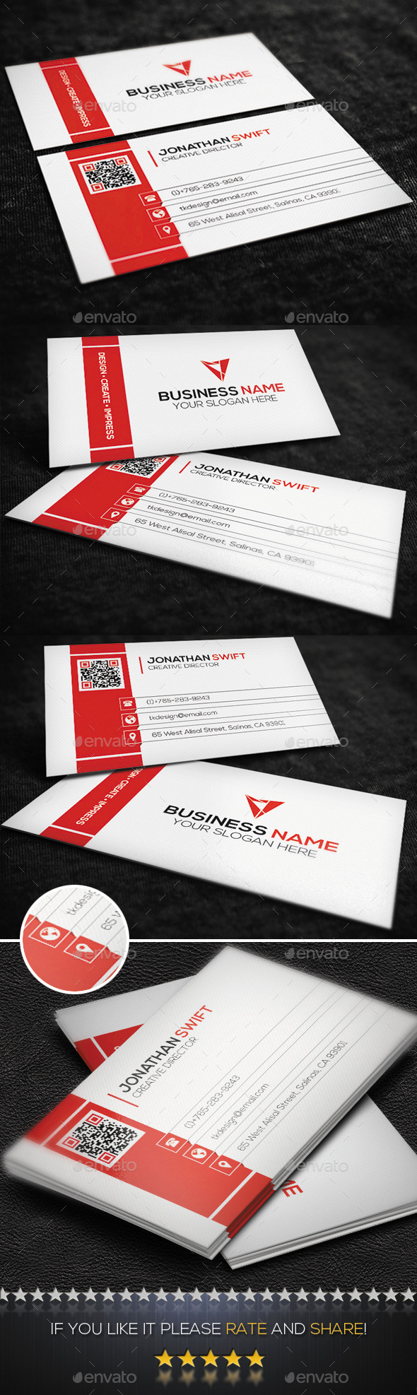 GraphicRiver Corporate Business Card No.02 9115265