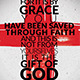Ephesians 2 8 Church Flyer - GraphicRiver Item for Sale