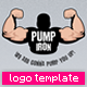Pump Iron Logo Template - GraphicRiver Item for Sale