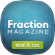 Fraction - Multipurpose News, Magazine HTML - Entertainment Site Templates