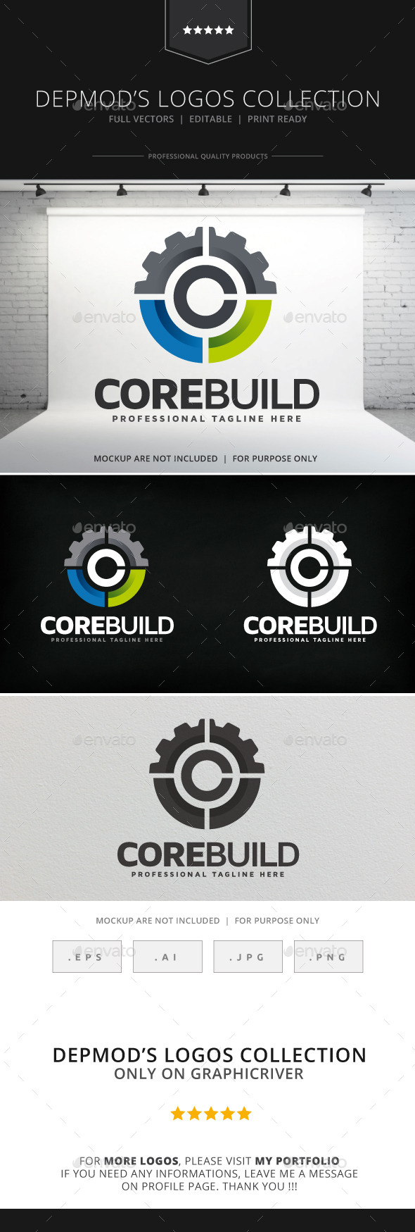 GraphicRiver Core Build Logo 9117374