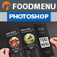 Restaurant Trifold Food Menu V3 - GraphicRiver Item for Sale