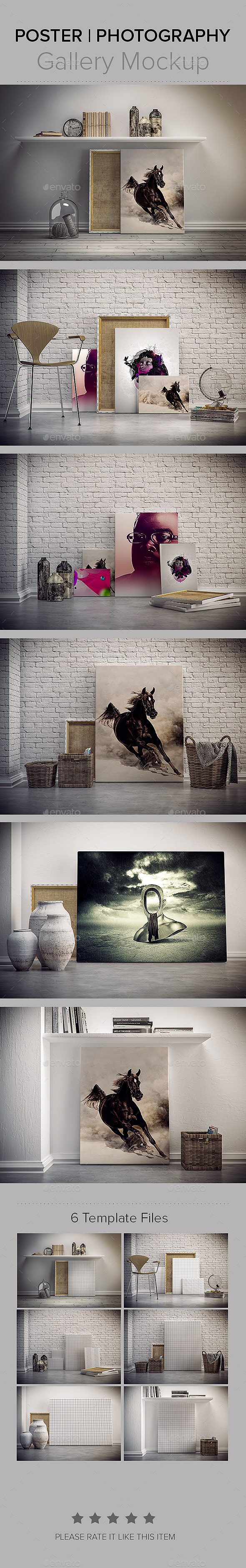 Photography Poster GalleryMockup