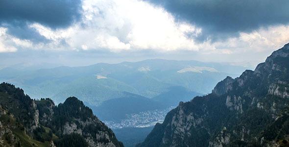 Busteni City View From Caraiman Peak