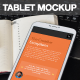 Photorealistic Indoor Tablet Mockups - GraphicRiver Item for Sale