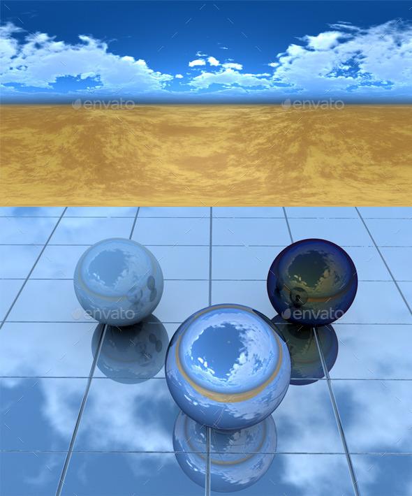 3DOcean Desert 172 9117713
