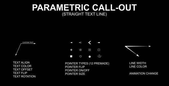 Parametric Callouts