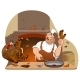 Thanksgiving Turkey and Chef - GraphicRiver Item for Sale