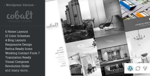 Cobalt - Responsive Architect & Creatives WP Theme