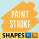 Paint Stroke Shapes - GraphicRiver Item for Sale
