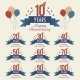 Anniversary Sign Collection - GraphicRiver Item for Sale