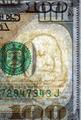 Watermark on new hundred dollar bill - PhotoDune Item for Sale