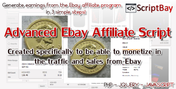 CodeCanyon ScriptBay Advanced Affiliate Ebay Script 9119223