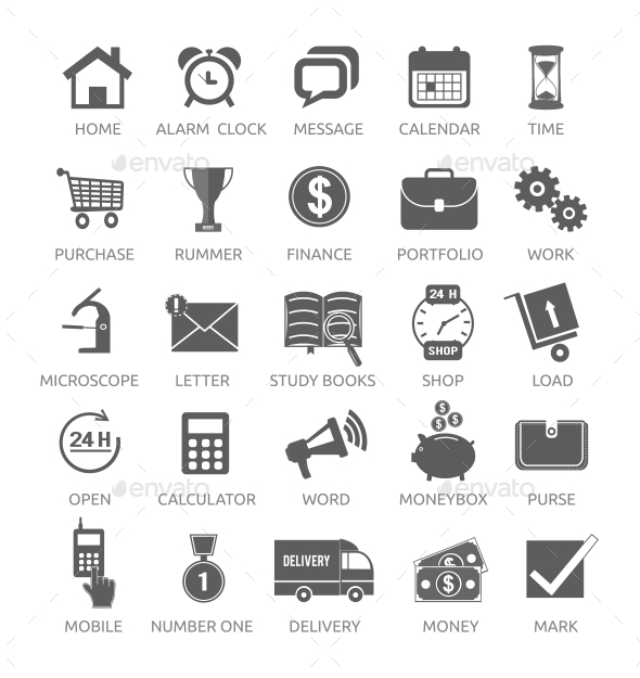GraphicRiver Icons for Web and Mobile Applications 9119892