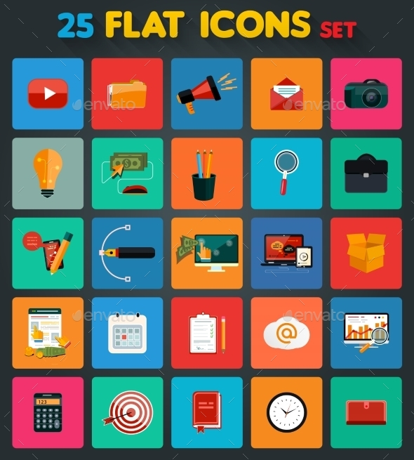 Business Items Icons