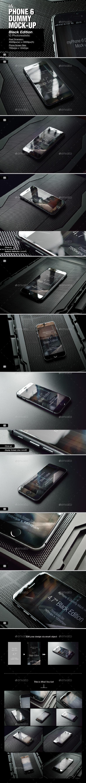 GraphicRiver myPhone 6 Mock-Up v03 9120052