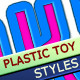 Plastic Toy Text Layer Styles - GraphicRiver Item for Sale