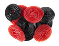 Red and black licorice wheels - PhotoDune Item for Sale