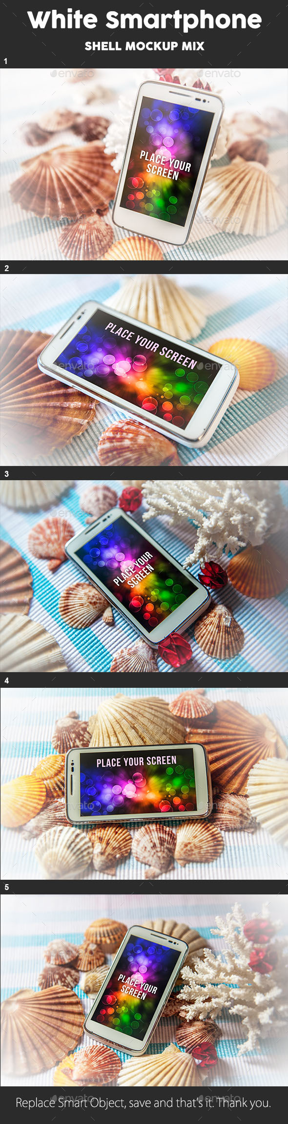 GraphicRiver Smartphone Mock Up Shell Theme 9107334