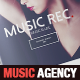 Music Agency Presentation Brochure / Bi-fold