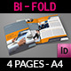 Company Brochure Bi-Fold Template Vol.34 - GraphicRiver Item for Sale