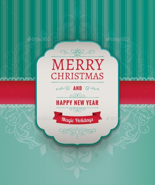 GraphicRiver Merry Christmas Greeting Card 9120544