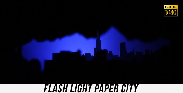 Flash Light Paper City